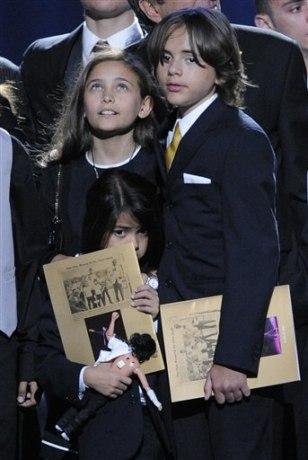 Image: Paris Jackson, Prince Michael Jackson,Prince Michael Jackson II