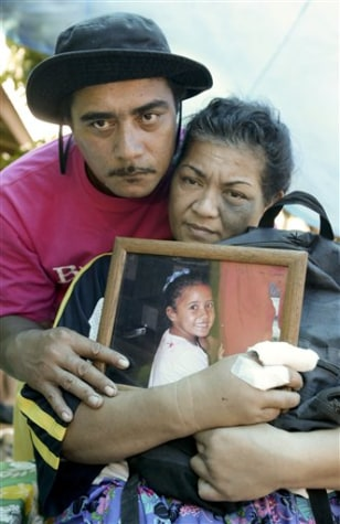 Image: Parents of dead child