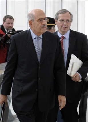 Image: Director General of the International Atomic Energy Agency Mohamed ElBaradei