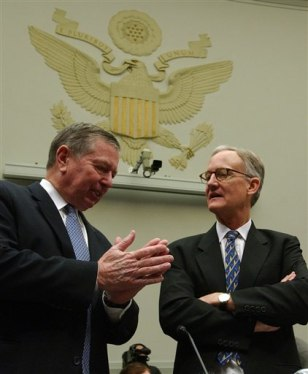 Image: John Ashcroft and attorney