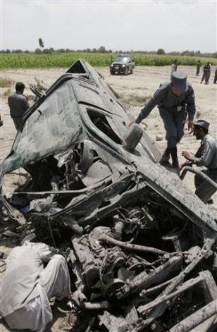 Image: Afghanistan Violence
