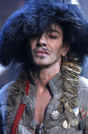 Image: John Galliano