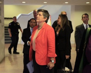 Image: Homeland Security Secretary Janet Napolitano
