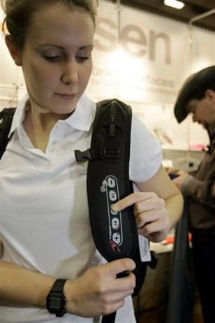iPod backpack