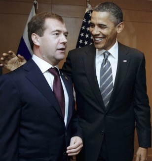 Image: Dmitry Medvedev, Barack Obama