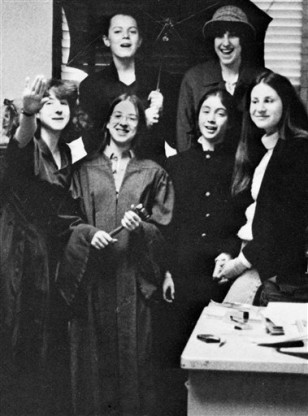 Image: Elena Kagan in high school