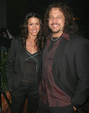 Shannon Elizabeth and husband