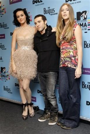 Image: Katy Perry,Pete Wentz andJoss Stone