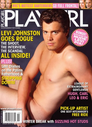 IMAGE: Levi Johnston Playgirl cover