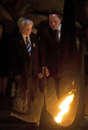 Image: Ceremony marking the 70th anniversary of the Babi Yar massacre
