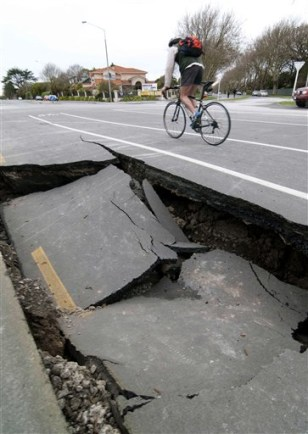 Image: New Zealand quake damage