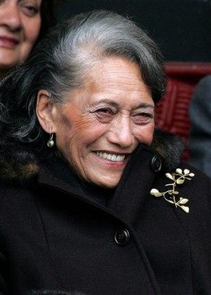 IMAGEQueen Dame Te Atairangi Kaahu