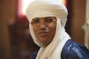 Tuareg rebel chief and Gadhafi insider Aghaly Alambo