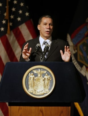 Image: New York Gov. David A. Paterson