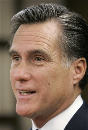 FormerGov. Mitt Romney, R-Mass.