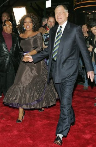 OPRAH AND DAVE LETTERMAN
