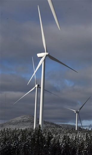 Kibby Mountain Wind Power