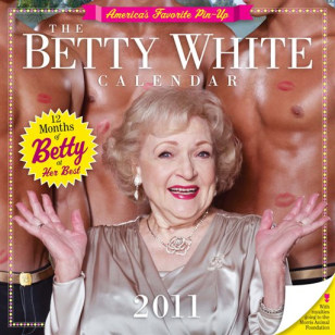 Image: Betty White calendar
