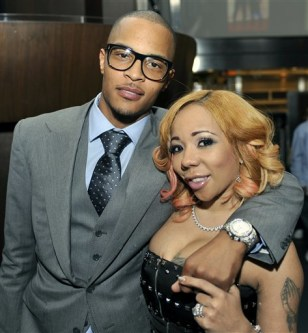 "Image: Clifford ""TI"" Harris, Tameka ""Tiny"" Harris"