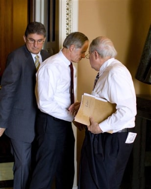 Joe Manchin, Thomas Carper, Carl Levin
