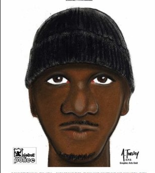 Image: Sketch of alleged Detroit rapist