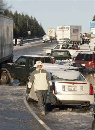 Image: Pile-up in Washington state
