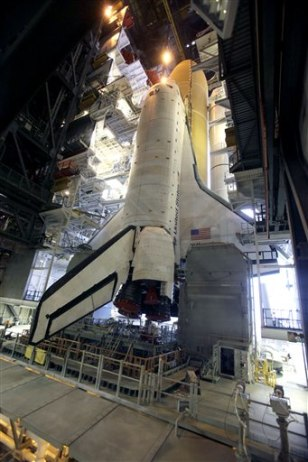 Image: Shuttle Atlantis at Cape Canaveral