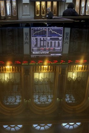 Image: Stock Exchange in Madrid