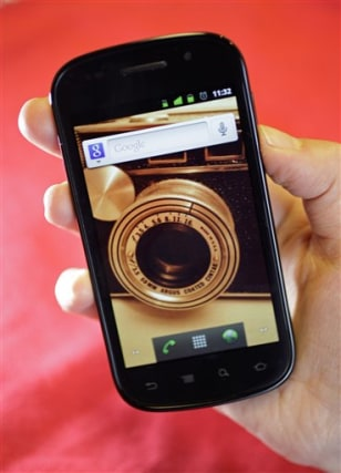 Image: Nexus S smart phone