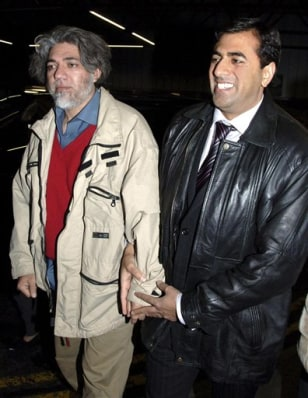 IMAGE: Mirza Tahir Hussain and Amjad Hussain