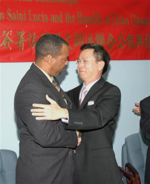 Image: Taiwan, St. Lucia meeting