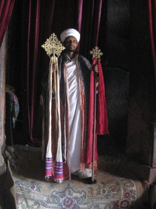Image: Church at Lalibela, Ethiopia