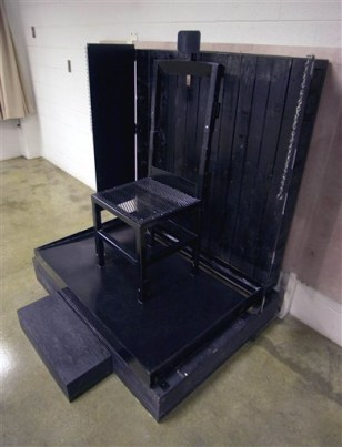 Image: Utah firing squad execution chair