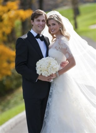 Image: Ivanka Trump, right, and Jared Kushner