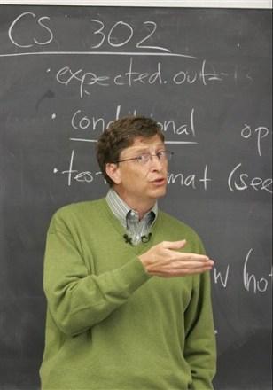 Image: Microsoft Corp. Chairman Bill Gates