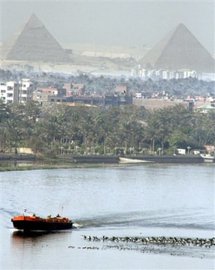 IMAGE: NILE RIVER IN EGYPT