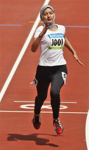 Beijing Olympics Athletics Womens 100M