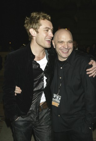 Image: Anthony Minghella and Jude Law
