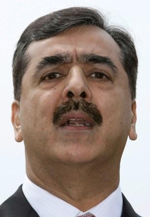 Image: Pakistani Prime Minister Gilani