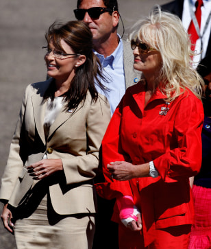 Image: Cindy McCain and Sarah Palin