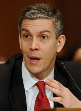 Image: Education Secretary Arne Duncan.