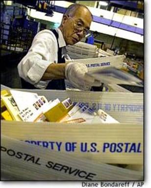 IMG: U.S. postal service worker
