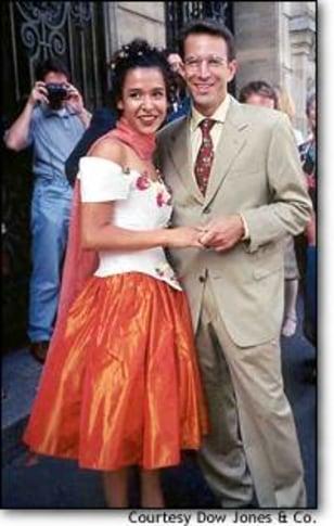 IMG: Daniel Pearl and wife