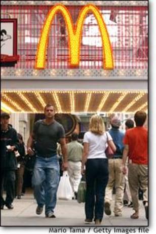Image: McDonalds Times Square Opens