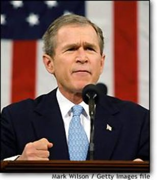 Image: President Bush Delivers State of the Union Address