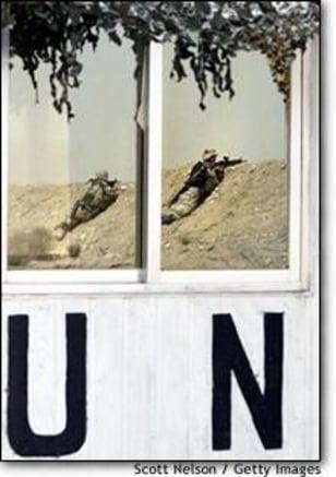 Image: U.S. Troops Advance Towards Iraq