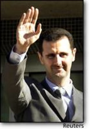 Image: Syrian President Bashar Al-assad In Damascus File Photo