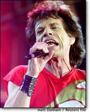 Image: Jagger Performs During Rolling Stones' Hot Licks Tour At Twickenham Stadium In London