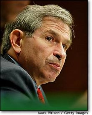 Image: Paul Wolfowitz Testifies On Capitol Hill