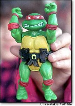Image: Teenage Mutant Ninja Turtle toy